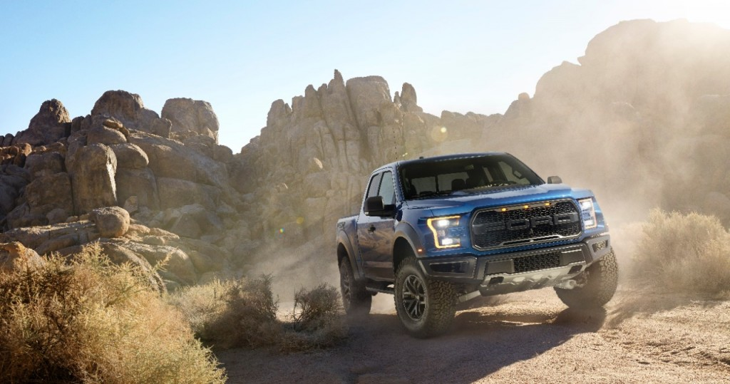 2017 Ford F-150 Raptor gets custom BFGoodrich KO2 tires